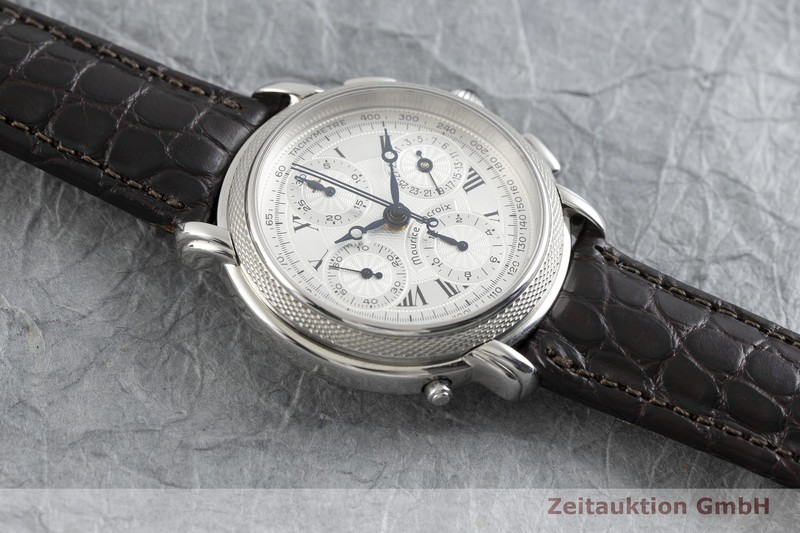gebrauchte Luxusuhr Maurice Lacroix Masterpiece Chronograph Stahl Automatik Ref. 61570 LIMITED EDITION | 2002362 _1