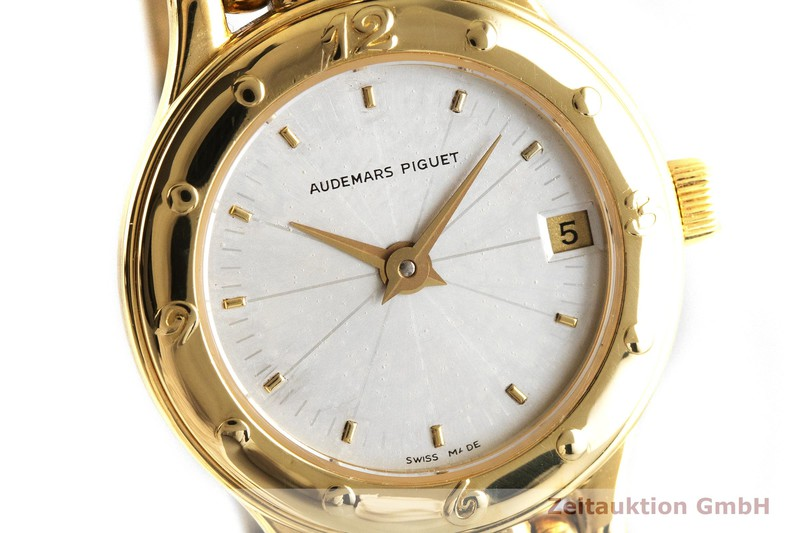 gebrauchte Luxusuhr Audemars Piguet * 18k Gold Quarz Kal. 2610 Ref. 66405.756    2002368 _0
