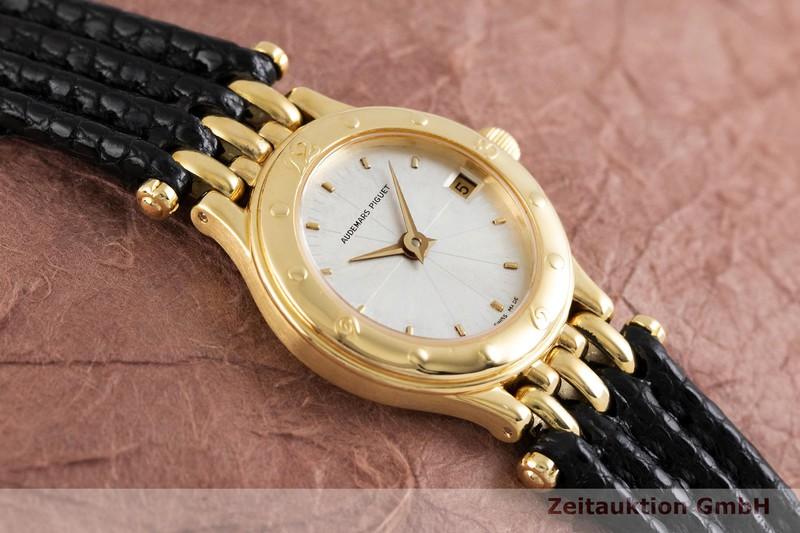 gebrauchte Luxusuhr Audemars Piguet * 18k Gold Quarz Kal. 2610 Ref. 66405.756    2002368 _1