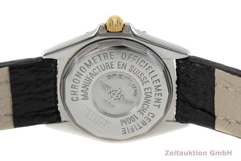 gebrauchte Luxusuhr Breitling Callistino Stahl / Gold Quarz Kal. B52, ETA 956.112 Ref. B52345    2002369 _0