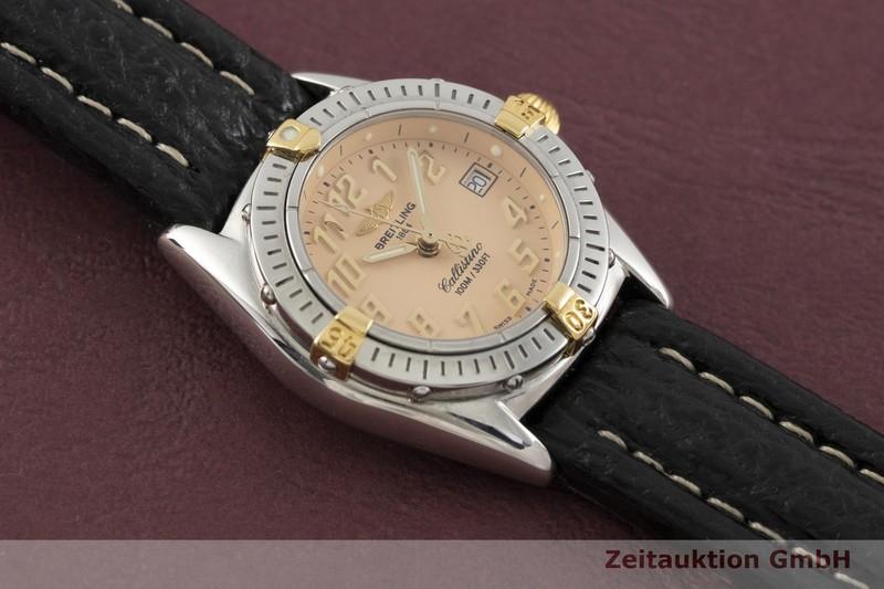gebrauchte Luxusuhr Breitling Callistino Stahl / Gold Quarz Kal. B52, ETA 956.112 Ref. B52345    2002369 _1