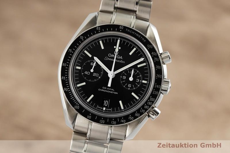 gebrauchte Luxusuhr Omega Speedmaster Moonwatch Chronograph Stahl Automatik Kal. 9300 Ref. 311.30.44.51.01.002    2002371 _0