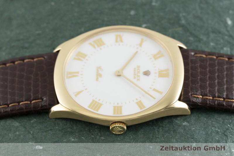 gebrauchte Luxusuhr Rolex Cellini 18k Gold Handaufzug Kal. 1601 Ref. 4133  | 2002377 _0