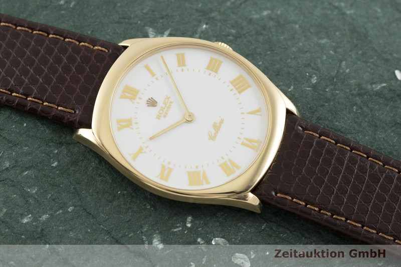 gebrauchte Luxusuhr Rolex Cellini 18k Gold Handaufzug Kal. 1601 Ref. 4133  | 2002377 _1