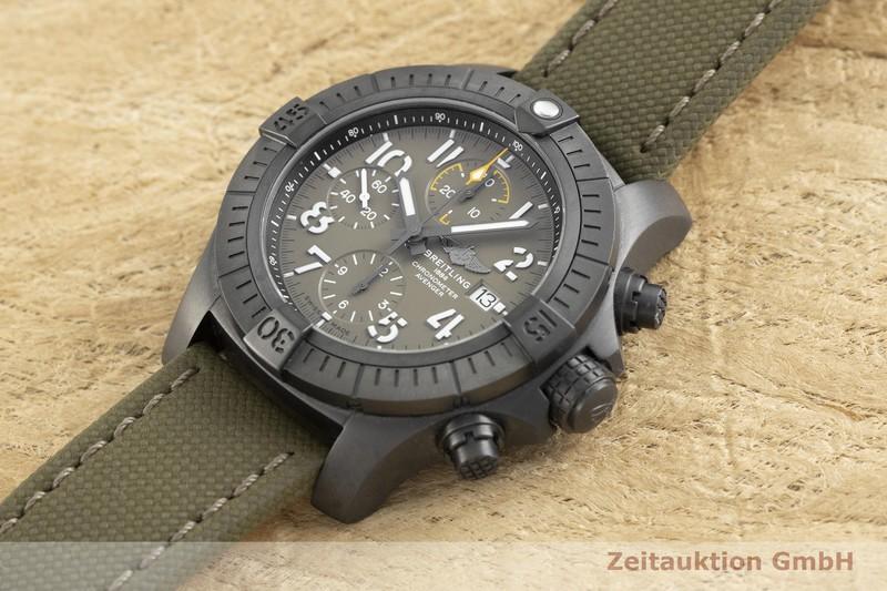 gebrauchte Luxusuhr Breitling Avenger Chronograph Titan Automatik Kal. B13 Ref. V13317  | 2002380 _0