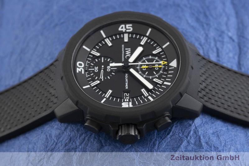 gebrauchte Luxusuhr IWC Aquatimer Chronograph Stahl Automatik Kal. 89365 Ref. IW379502  | 2002382 _0