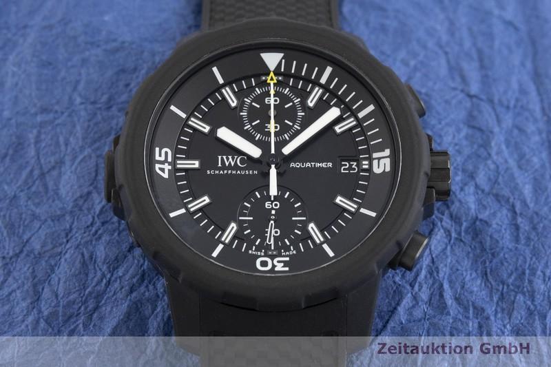 gebrauchte Luxusuhr IWC Aquatimer Chronograph Stahl Automatik Kal. 89365 Ref. IW379502  | 2002382 _1