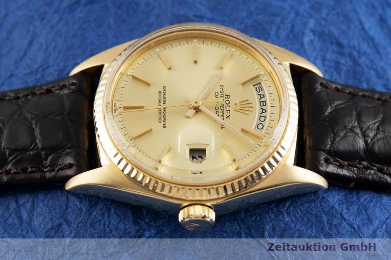 gebrauchte Luxusuhr Rolex Day-Date 18k Gold Automatik Kal. 1555 Ref. 1803  | 2002397 _0