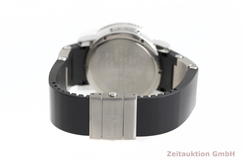 gebrauchte Luxusuhr Ulysse Nardin Marine Chronometer Stahl Automatik Kal. ETA 2892-A2 Ref. 263-55  | 2002401 _1