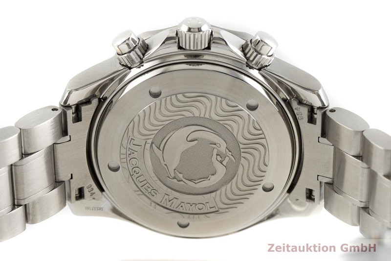 gebrauchte Luxusuhr Omega Seamaster Chronograph Stahl Automatik Kal. 3601 Ref. 175.0518  | 2002403 _0