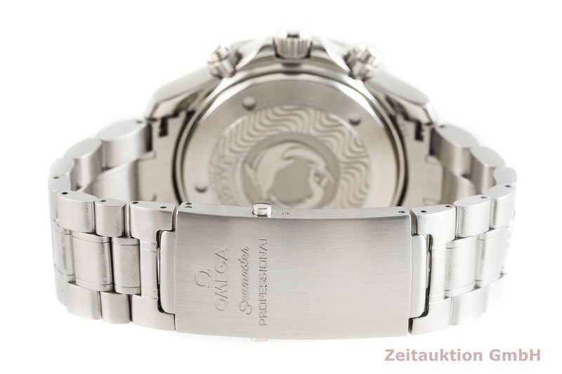 gebrauchte Luxusuhr Omega Seamaster Chronograph Stahl Automatik Kal. 3601 Ref. 175.0518  | 2002403 _1