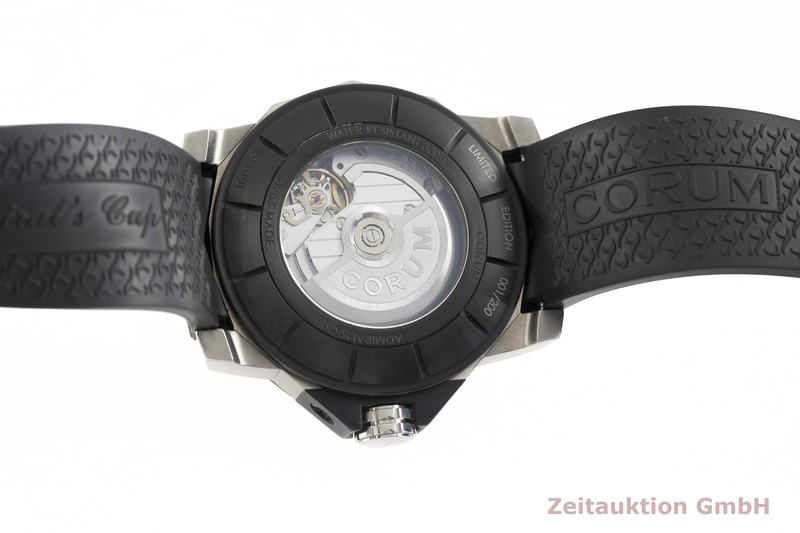 gebrauchte Luxusuhr Corum Admirals Cup Titan Automatik Kal. ETA A07171 Ref. 01.0101 LIMITED EDITION | 2002406 _0