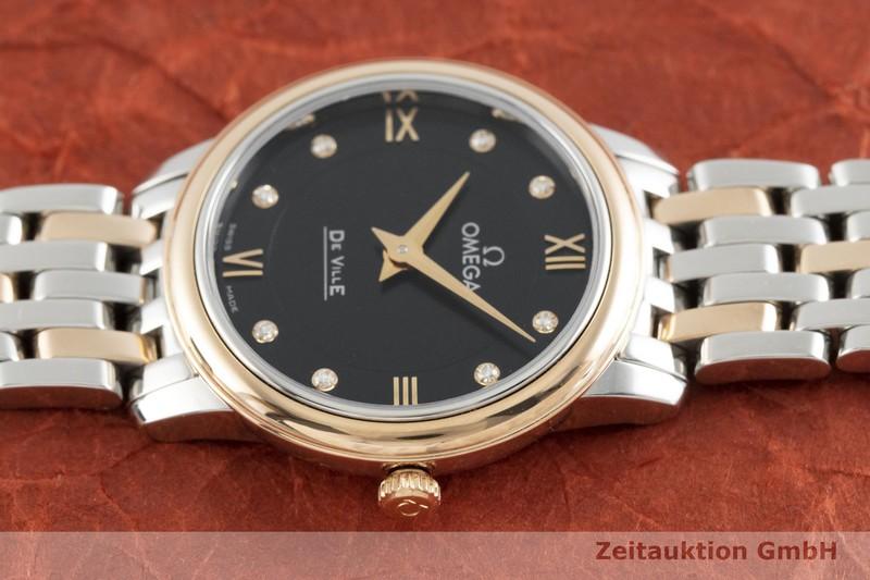 gebrauchte Luxusuhr Omega De Ville Stahl / Gold Quarz Kal. 1376 Ref. 424.20.27.60.53.001  | 2002420 _0