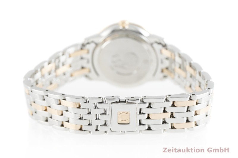 gebrauchte Luxusuhr Omega De Ville Stahl / Gold Quarz Kal. 1376 Ref. 424.20.27.60.53.001  | 2002420 _1