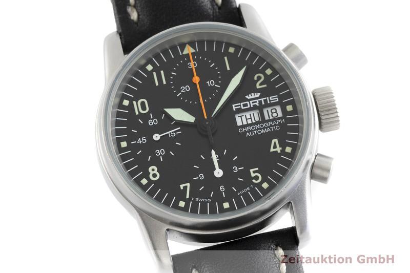 gebrauchte Luxusuhr Fortis Flieger Chronograph Stahl Automatik Kal. ETA 7750 Ref. 622.10.141  | 2002421 _0