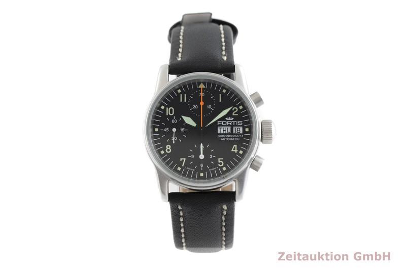 gebrauchte Luxusuhr Fortis Flieger Chronograph Stahl Automatik Kal. ETA 7750 Ref. 622.10.141  | 2002421 _1