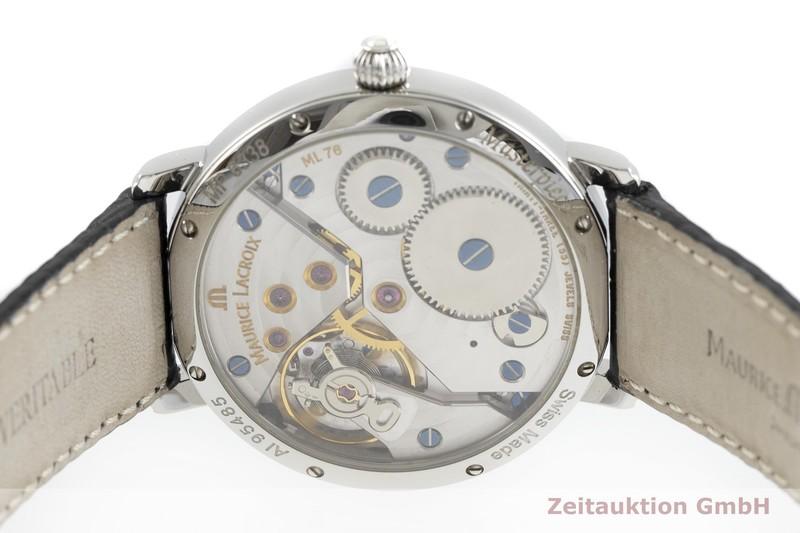 gebrauchte Luxusuhr Maurice Lacroix Masterpiece Stahl Handaufzug Kal. ML76, ETA 6408-1 Ref. MP6338    2002426 _0
