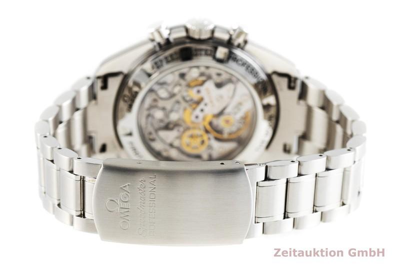 gebrauchte Luxusuhr Omega Speedmaster Moonwatch Chronograph Stahl Handaufzug Kal. 1856 Ref. 3872.5000  | 2002429 _1