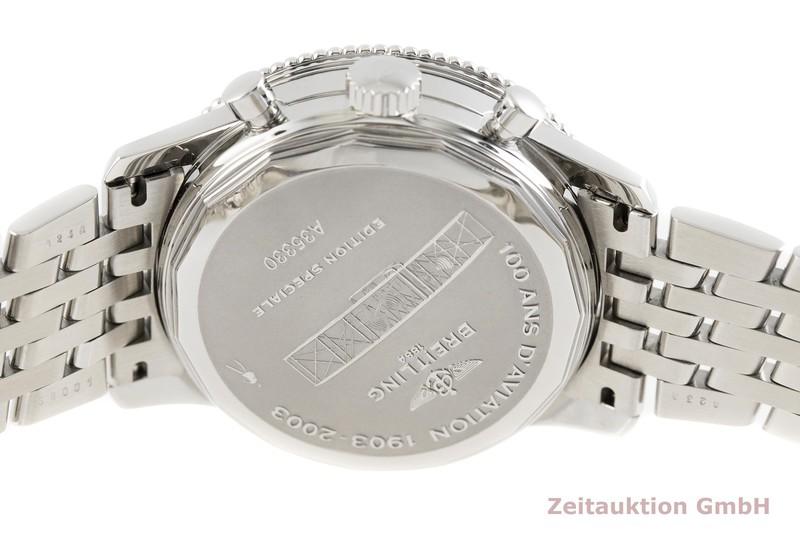 gebrauchte Luxusuhr Breitling Montbrillant Chronograph Stahl Automatik Kal. ETA 2892-A2 Ref. A35330  | 2002432 _0