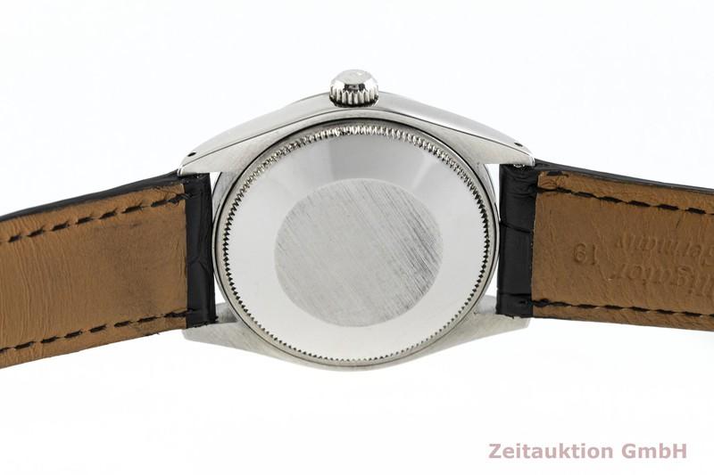 gebrauchte Luxusuhr Rolex Oyster Perpetual Stahl / Weissgold Automatik Kal. 1570 Ref. 1002  | 2002442 _0