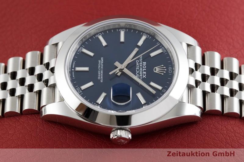 gebrauchte Luxusuhr Rolex Datejust Stahl Automatik Kal. 3235 Ref. 126300  | 2002443 _0