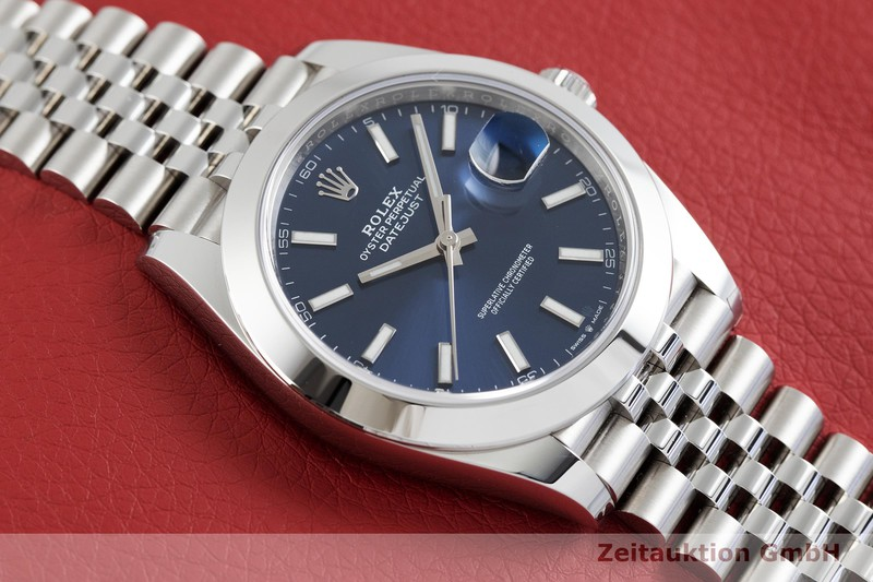 gebrauchte Luxusuhr Rolex Datejust Stahl Automatik Kal. 3235 Ref. 126300  | 2002443 _1