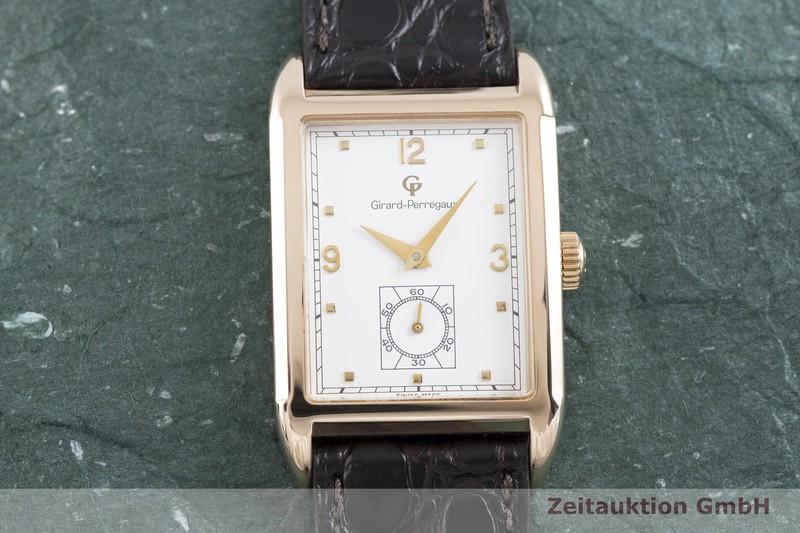 gebrauchte Luxusuhr Girard Perregaux Anno 1991 18k Rotgold Handaufzug Kal. 2300-119 Ref. 4961  | 2002452 _1