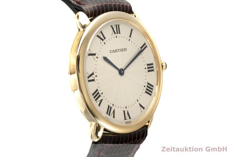 gebrauchte Luxusuhr Cartier Ronde Louis 18k Gold Handaufzug Kal. 9P2 Ref. 09001  | 2002459 _0