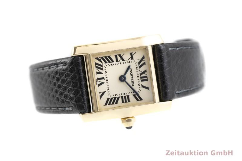 gebrauchte Luxusuhr Cartier Tank Francaise 18k Gold Quarz Kal. 016, ETA 281.002  Ref. 1820  | 2002465 _0