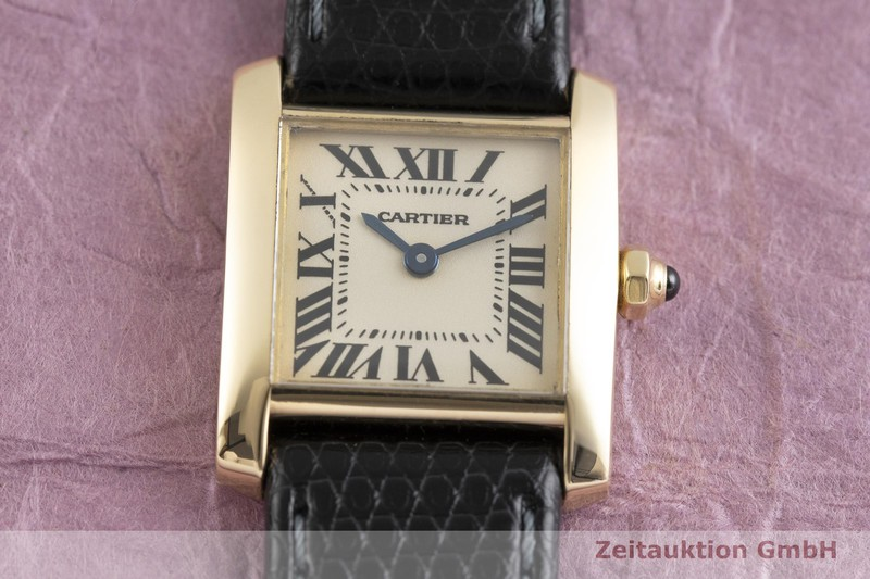 gebrauchte Luxusuhr Cartier Tank Francaise 18k Gold Quarz Kal. 016, ETA 281.002  Ref. 1820  | 2002465 _1