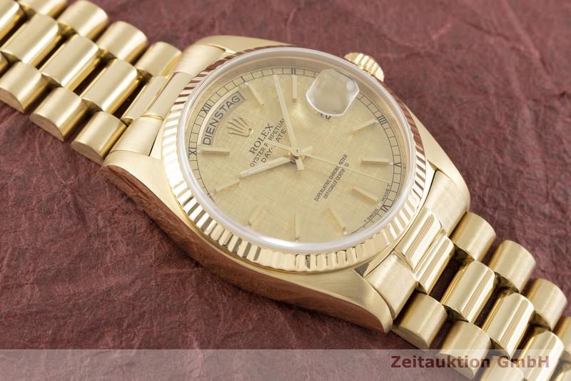 gebrauchte Luxusuhr Rolex Day-Date 18k Gold Automatik Kal. 3055 Ref. 18038 VINTAGE    2002466 _1