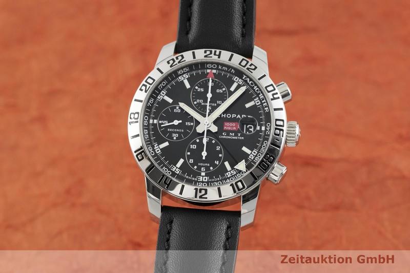 gebrauchte Luxusuhr Chopard Mille Miglia Chronograph Stahl Automatik Kal. ETA 7754 Ref. 168992-3001  | 2002467 _0