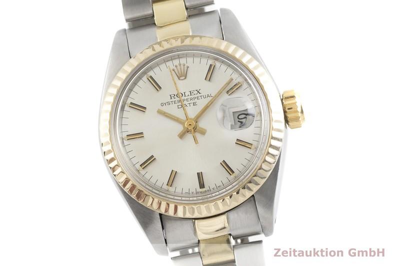 gebrauchte Luxusuhr Rolex Lady Date Stahl / Gold Automatik Kal. 2030 Ref. 6917    2002477 _0