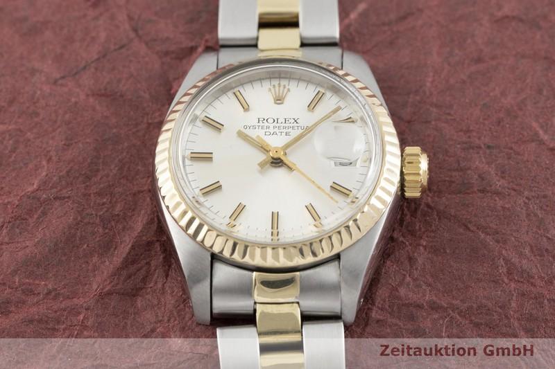 gebrauchte Luxusuhr Rolex Lady Date Stahl / Gold Automatik Kal. 2030 Ref. 6917    2002477 _1