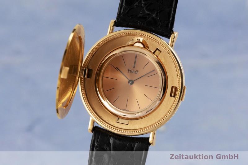 gebrauchte Luxusuhr Piaget Twenty Dollars Coin 18k Gold Handaufzug VINTAGE  | 2002478 _0