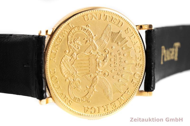 gebrauchte Luxusuhr Piaget Twenty Dollars Coin 18k Gold Handaufzug VINTAGE    2002478 _0