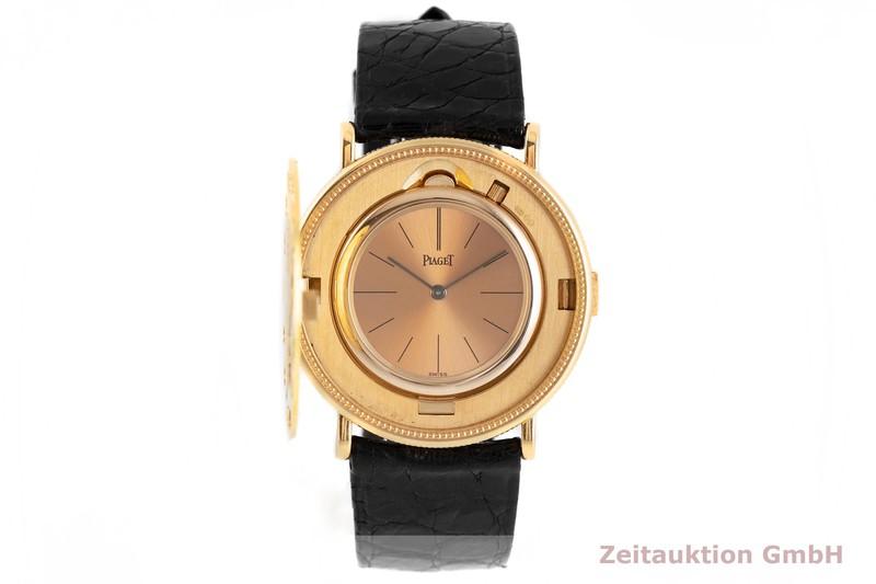 gebrauchte Luxusuhr Piaget Twenty Dollars Coin 18k Gold Handaufzug VINTAGE    2002478 _1