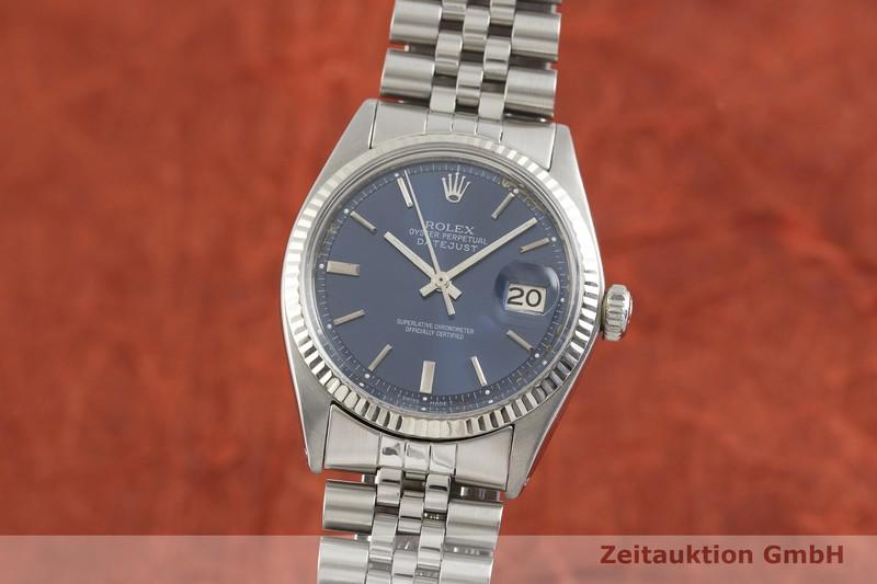 gebrauchte Luxusuhr Rolex Datejust Stahl / Weissgold Automatik Kal. 1570 Ref. 1601    2002487 _0