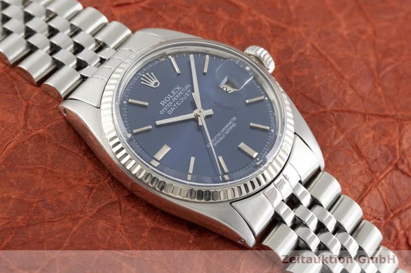 gebrauchte Luxusuhr Rolex Datejust Stahl / Weissgold Automatik Kal. 1570 Ref. 1601    2002487 _1
