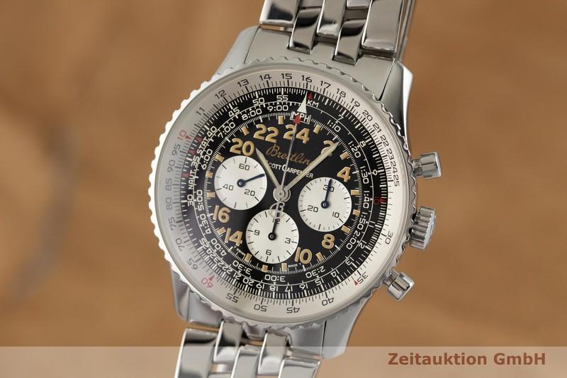 gebrauchte Luxusuhr Breitling Navitimer Chronograph Stahl Handaufzug Kal. 1872 Ref. A12022 LIMITED EDITION | 2002490 _0