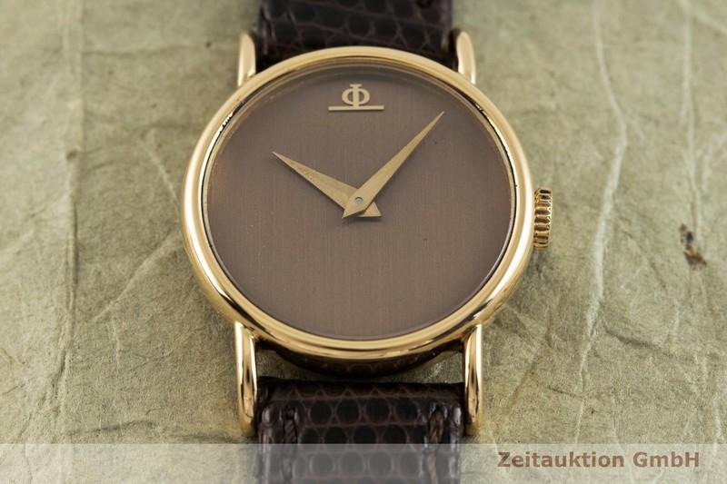 gebrauchte Luxusuhr Baume & Mercier * 18k Gold Handaufzug Kal. BM 777 Ref. 36653    2002502 _1