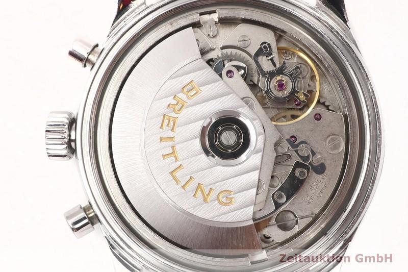 gebrauchte Luxusuhr Breitling Navitimer Chronograph Stahl Automatik Kal. B13, ETA 7750 Ref. A13023.1  | 2002505 _0