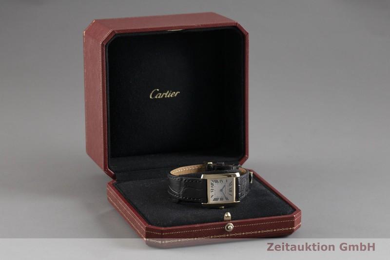 gebrauchte Luxusuhr Cartier Tank Francaise 18k Gold Quarz Kal. 157 Ref. 1821  | 2002533 _0