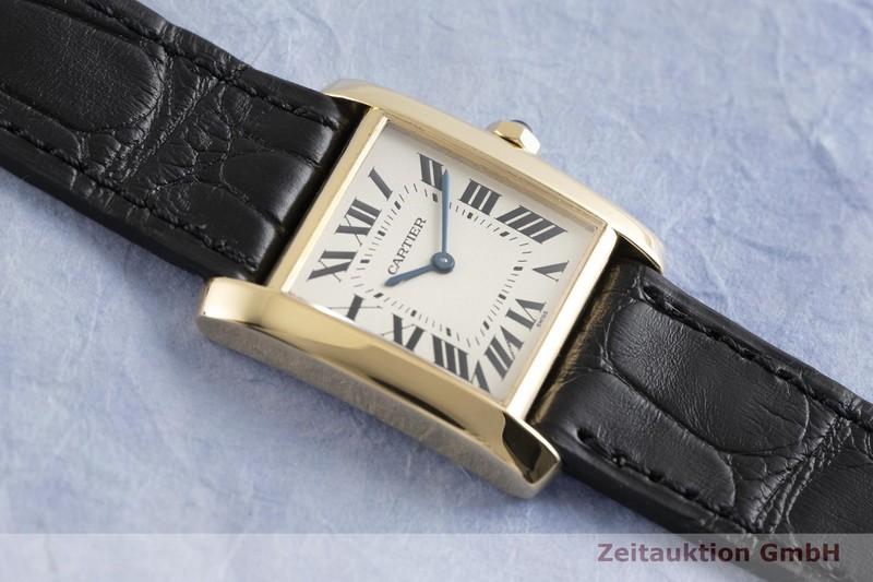 gebrauchte Luxusuhr Cartier Tank Francaise 18k Gold Quarz Kal. 157 Ref. 1821  | 2002533 _1