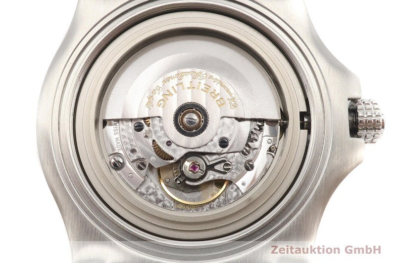 gebrauchte Luxusuhr Breitling Avenger Stahl Automatik Kal. Sellita SW 200-1 Ref. A17318  | 2002536 _0