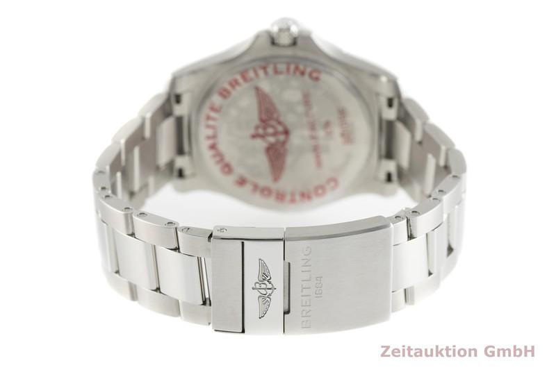 gebrauchte Luxusuhr Breitling Avenger Stahl Automatik Kal. Sellita SW 200-1 Ref. A17318  | 2002536 _1