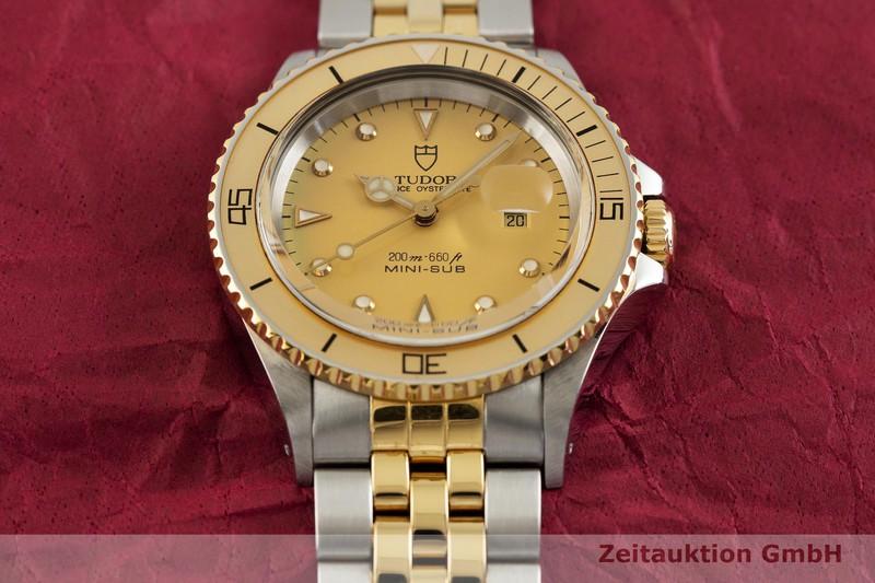gebrauchte Luxusuhr Tudor Mini-Sub Stahl / Gold Automatik Kal. ETA 2671 Ref. 73091  | 2002540 _1