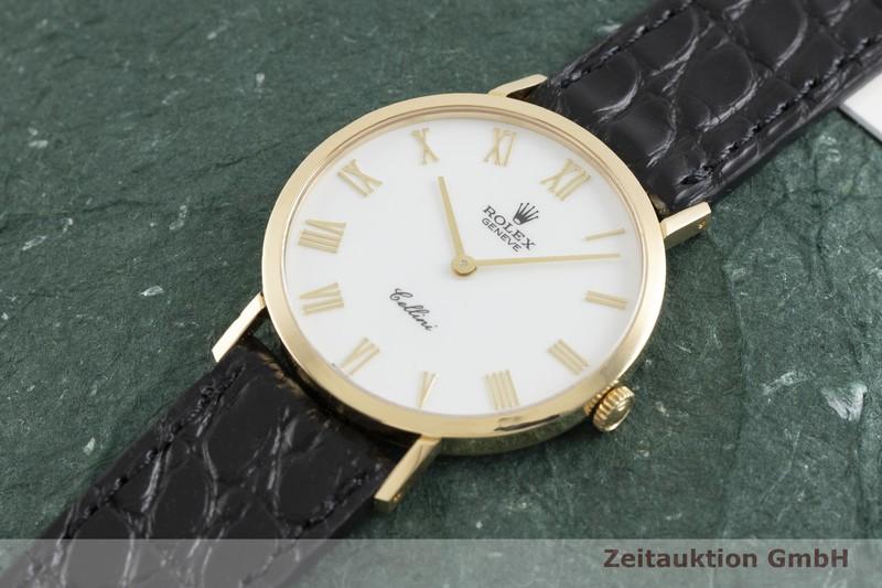 gebrauchte Luxusuhr Rolex Cellini 18k Gold Handaufzug Kal. 1602 Ref. 4112  | 2002544 _0