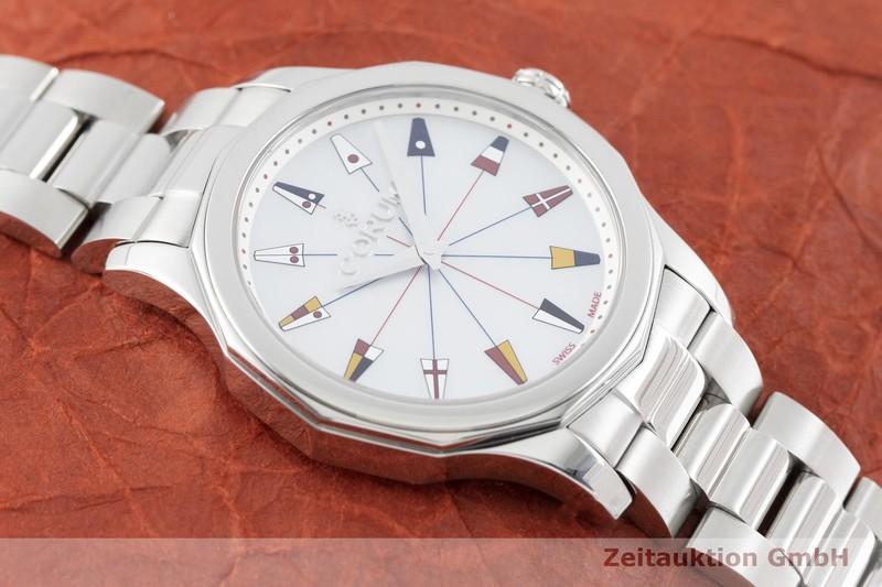gebrauchte Luxusuhr Corum Admirals Cup Stahl Quarz Kal. Ronda 1002 Ref. 01.0133  | 2002545 _1