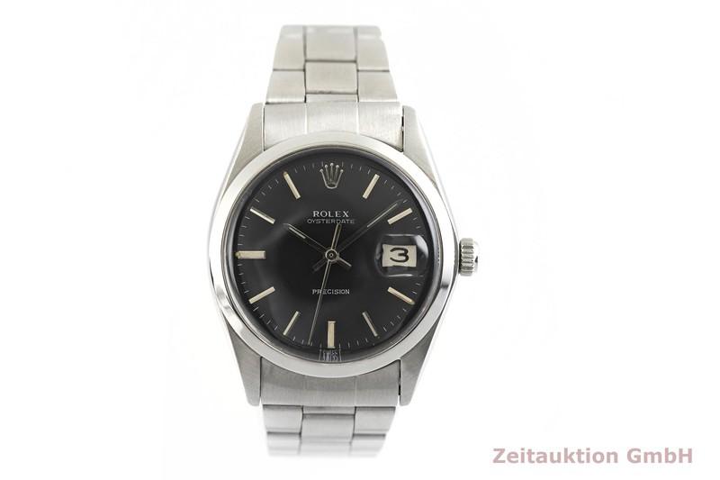 gebrauchte Luxusuhr Rolex Oysterdate Stahl Handaufzug Kal. 1225 Ref. 6694 VINTAGE  | 2002549 _1